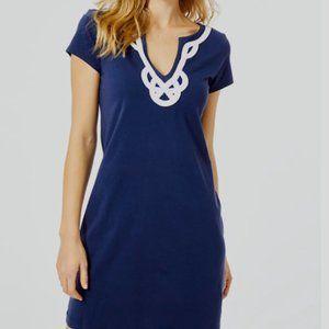 Lilly Pulitzer Brewster Dress XXS  True Navy NWOT
